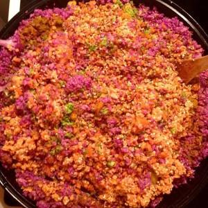 A Pink Indian Khichdi by Sheeva Raynn