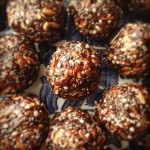 My RAW MultiSeed Balls with dried plum. Very Healthy And Tasty Yummies