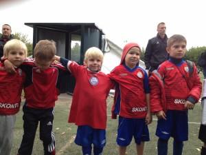 Sconto kids soccer team