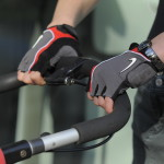 Cycling Gloves for Running with the Stroller