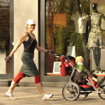 Weight Loss Walking with the Baby Stroller