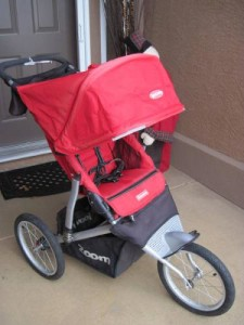 Joovy Zoom ATS Single Stroller red