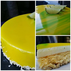 A cake with the touch of sourness recipe by Gillaume Mobilleau