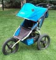 BOB Sport Utility Stroller_Single_blue