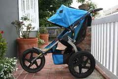 BOB Sport Utility Stroller_Single_blue_3