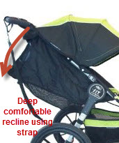Baby-Jogger-F.I.T.-Single-Jogging-Stroller-seat recline