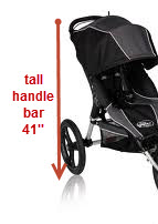 Baby-Jogger-FIT-Stroller- handle-bar-height