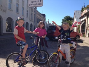 Biking 6 years olds kids