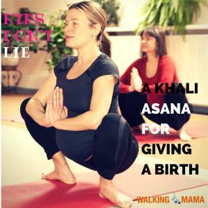 A khali asana fpr pregnant women