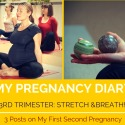 My Pregnancy Diary 3rd Trimester: slow down and breathe!