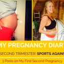 Walkingmama My Pregnancy Diary Second Trimester In Sports Again