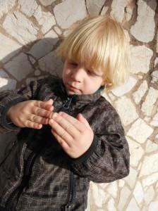 Jegor explaining Gaudi