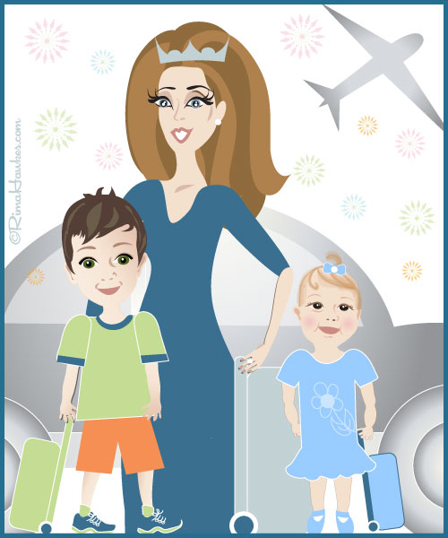 Princess Ivana Pignatelli Blog's cartoons