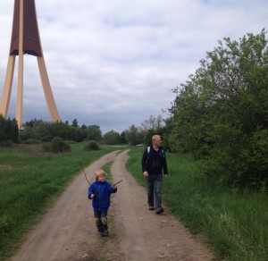 Walking with the kids