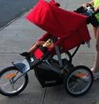 Joovy Zomm ATS jogging stroller
