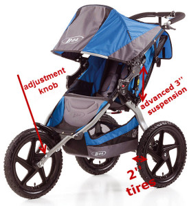 bob-sport-utility-stroller-suspension-tracking-wheels