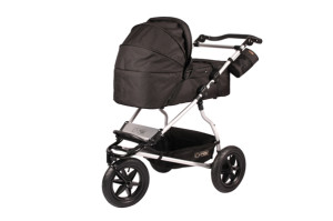 mountain buggy urban jungle_carrycot on buggy_black