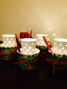 Merry DIY Christmas Lanterns