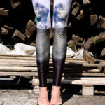 Leggings+High heels=Glam   Just wear them instead of your sneakers to add instant glamour