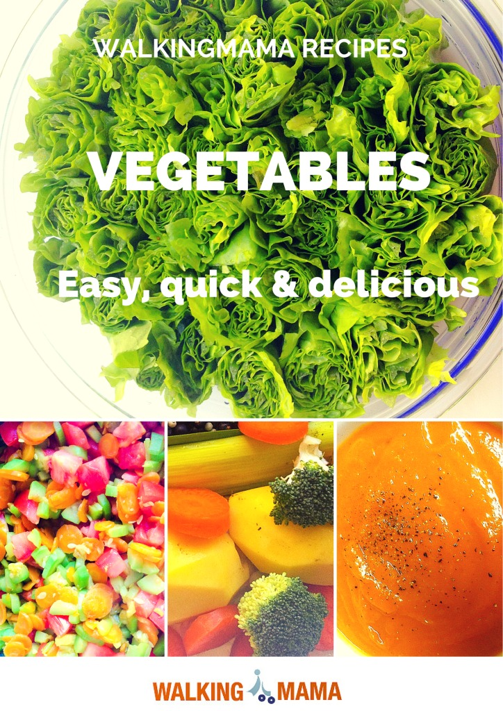Vegetables recipes by walkingmama