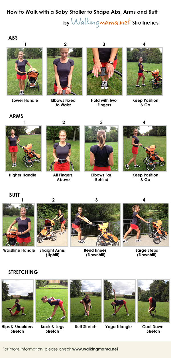 stroller fitness invisible exercises